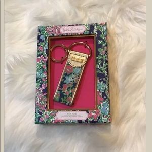 Lilly Pulitzer Key Chain FOB